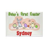 Sydney First Easter Rectangle Magnet