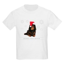 Dachshund Christmas Greeting T-Shirt