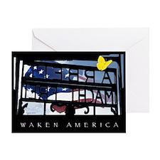 Waken America Greeting Card
