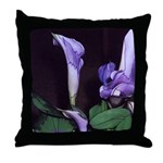 Purple Calla Lily Throw Pillow