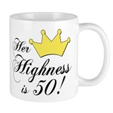 50th birthday gifts women Mug