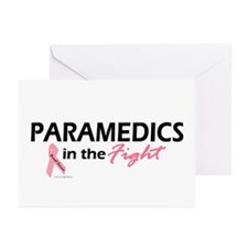 Paramedics In The Fight Greeting Cards (Pk of 10)