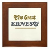 Ernest Framed Tile