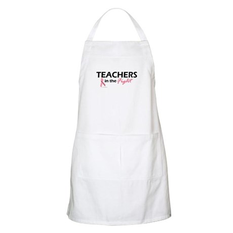 Teachers In The Fight BBQ Apron