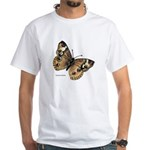 Buckeye Butterfly (Front) White T-Shirt