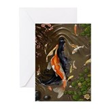 Koi Mermaid Greeting Cards (Pk of 10)