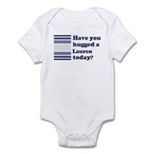 Hugged Lauren Infant Bodysuit