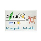 Kayak Math Rectangle Magnet (10 pack)