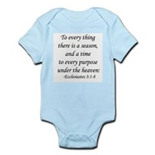 """To Every Thing ..."" Infant Bodysuit"