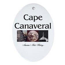 ABH Cape Canaveral Ornament (Oval)