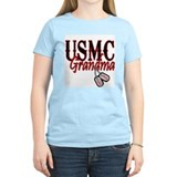 USMC Dog Tag Grandma T-Shirt