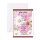 Survivor Poem Greeting Card