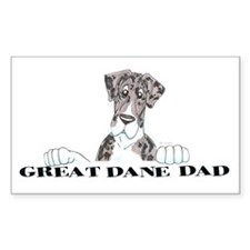NMtlMrl LO Dad Rectangle Decal