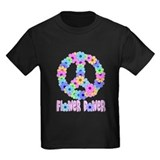 Flower Power Peace Sign T