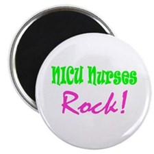 "NICU Nurses Rock! 2.25"" Magnet (10 pack)"