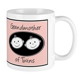 Grandmother of Twins Small Mug