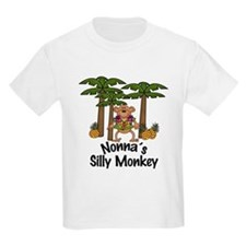 Nonna's Silly Monkey Boy T-Shirt