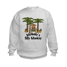 Mommy's Silly Monkey Girl Sweatshirt