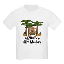 Mommy's Silly Monkey Girl T-Shirt
