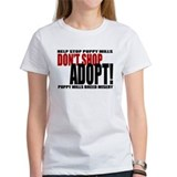 Don't Shop, Adopt! Puppy Mills Tee