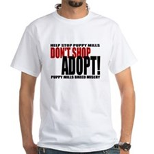 Don't Shop, Adopt! Puppy Mills Shirt