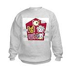 Farm Sounds Kids Sweatshirt