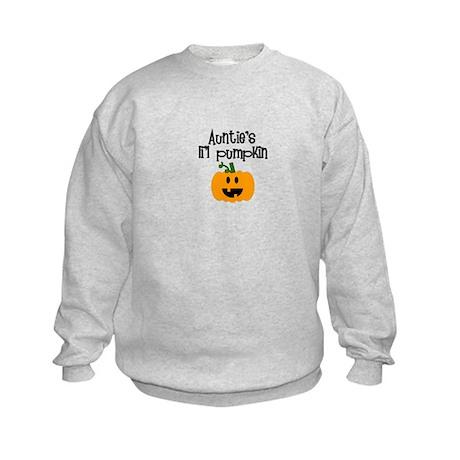 Auntie's lil pumpkin Kids Sweatshirt