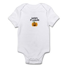 Auntie's lil pumpkin Infant Bodysuit