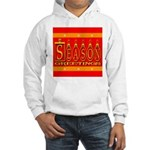 Season Greetings Tristar Ribb Hooded Sweatshirt