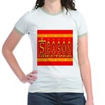 Season Greetings Tristar Ribb Jr. Ringer T-Shirt