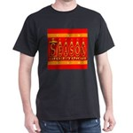 Season Greetings Tristar Ribb Dark T-Shirt