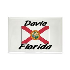 Davie Florida Rectangle Magnet