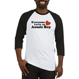 Everyone Loves an Aussie Boy Baseball Jersey