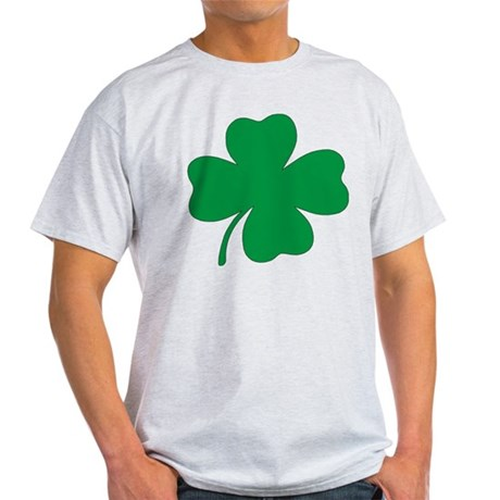 St. Patrick's Day Shamrock Ash Grey T-Shirt