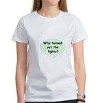 LIGHTS OUT Women's T-Shirt