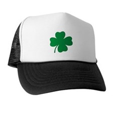 St. Patrick's Day Shamrock Trucker Hat
