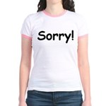 Sorry Jr. Ringer T-Shirt