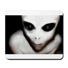 Alien Grey Mousepad