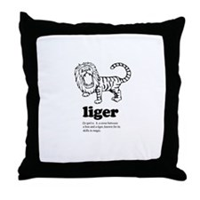 Liger ~  Throw Pillow