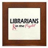 Librarians In The Fight Framed Tile