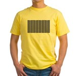 Optical Illusion Yellow T-Shirt