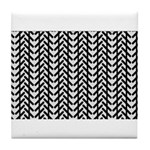 Optical Illusion Tile Coaster