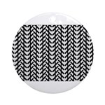Optical Illusion Ornament (Round)