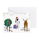 Greyhound Greeting Cards (Pk of 20)
