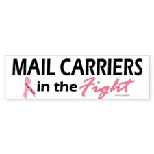 Mail Carriers In The Fight Bumper Bumper Sticker
