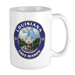 Louisiana Freemason Large Mug