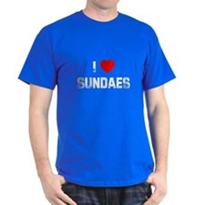 I * Sundaes T-Shirt