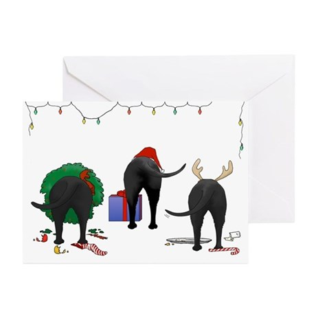 Black Labrador Greeting Cards (Pk of 20)