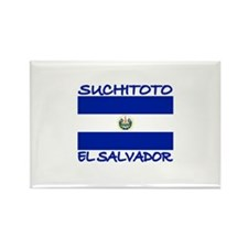 Suchitoto, El Salvador Rectangle Magnet (100 pack)