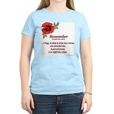Remember Poppy T-Shirt